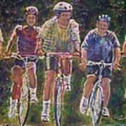 Heck On Wheels Poster by Linda Vaughon