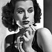 Hedy Lamarr - Beauty And Brains Poster