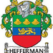 Hefferman Coat Of Arms Irish Poster