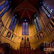 Heinz Memorial Chapel Pittsburgh Pennsylvania Poster by Amy Cicconi