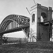 Hell Gate Bridge Poster