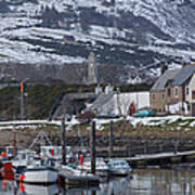 Helmsdale Harbour - Sutherland Poster