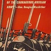 Help Russian War Relief American World Poster