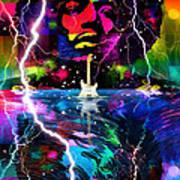 Hendrix Astro Man Poster