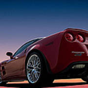 Hennessey Red Poster