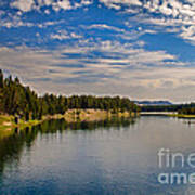 Henry Fork Of Snake River II Poster by Robert Bales