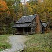 Henry Whitehead Place Cades Cove Gsmnp Poster