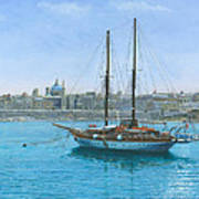 Hera 2 Valletta Malta Poster