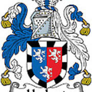 Herbert Coat Of Arms Irish Poster