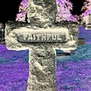 Here Lie The Faithful Poster
