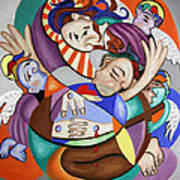 Here My Prayer Poster by Anthony Falbo