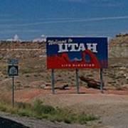 Here's Utah Poster