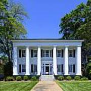 Heritage Hall In Madison Georgia Poster