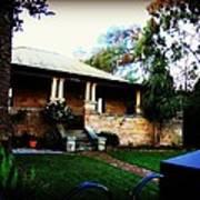 Heritage Sandstone House In Sydney Australia Poster