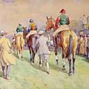 Hethersett Steeplechases Poster by John Atkinson