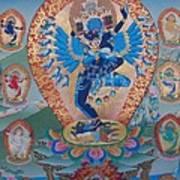 Hevajra With 8 Dakinis Poster