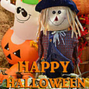 Feel Good Happy Halloween Poster