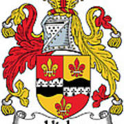 Hicks Coat Of Arms Irish Poster
