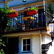Hidden Away Balcony Poster