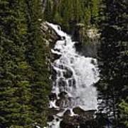 Hidden Falls Jenny Lake Poster