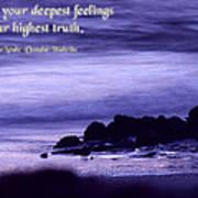 Hidden In Your Deepest Feelings Poster
