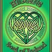 Higgins Soul Of Ireland Poster