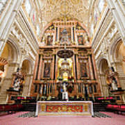 High Altar Of Cordoba Cathedral Poster