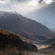 High Atlas Mountains Poster