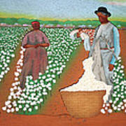 High Cotton Poster by Fred Gardner
