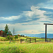 High Country Farm Poster