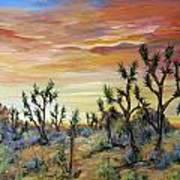 High Desert Joshua Trees Poster