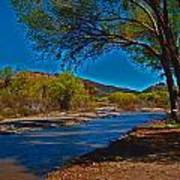 High Desert River Bed Poster