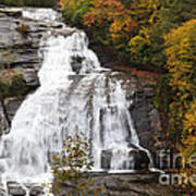 High Falls In The Dupont State Forest Poster