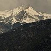 High Mountains Of Taos Poster