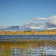 High Peaks Autumn Poster