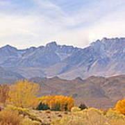 High Sierra Autumn Poster