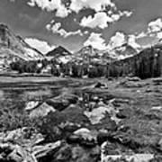 High Sierra Meadow Poster