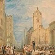 High Street - Edinburgh Poster