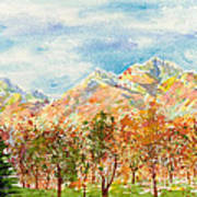 Highlands Autumn Poster