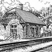 Highlands Train Station Poster