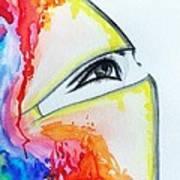 Hijab Veil Poster by Salwa  Najm