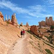 Hike In Bryce Canyon Poster
