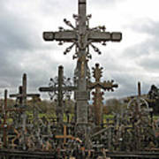 Hill Of Crosses 06. Lithuania.  Poster