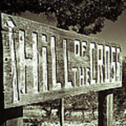 Hill Of The Cross Poster