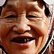 Hill Tribe Smile Poster