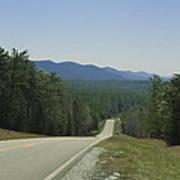 Hills Of Talladega National Forest Alabama Poster