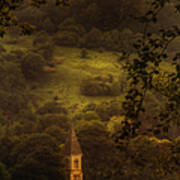 Hillside Sanctuary Poster