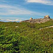 Hillside View Of Swissair Flight 111 Memorial In Whalesback-ns Poster