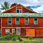 Hilo Town House Poster