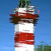 Hilton Head Lighthouse Reflection Poster
